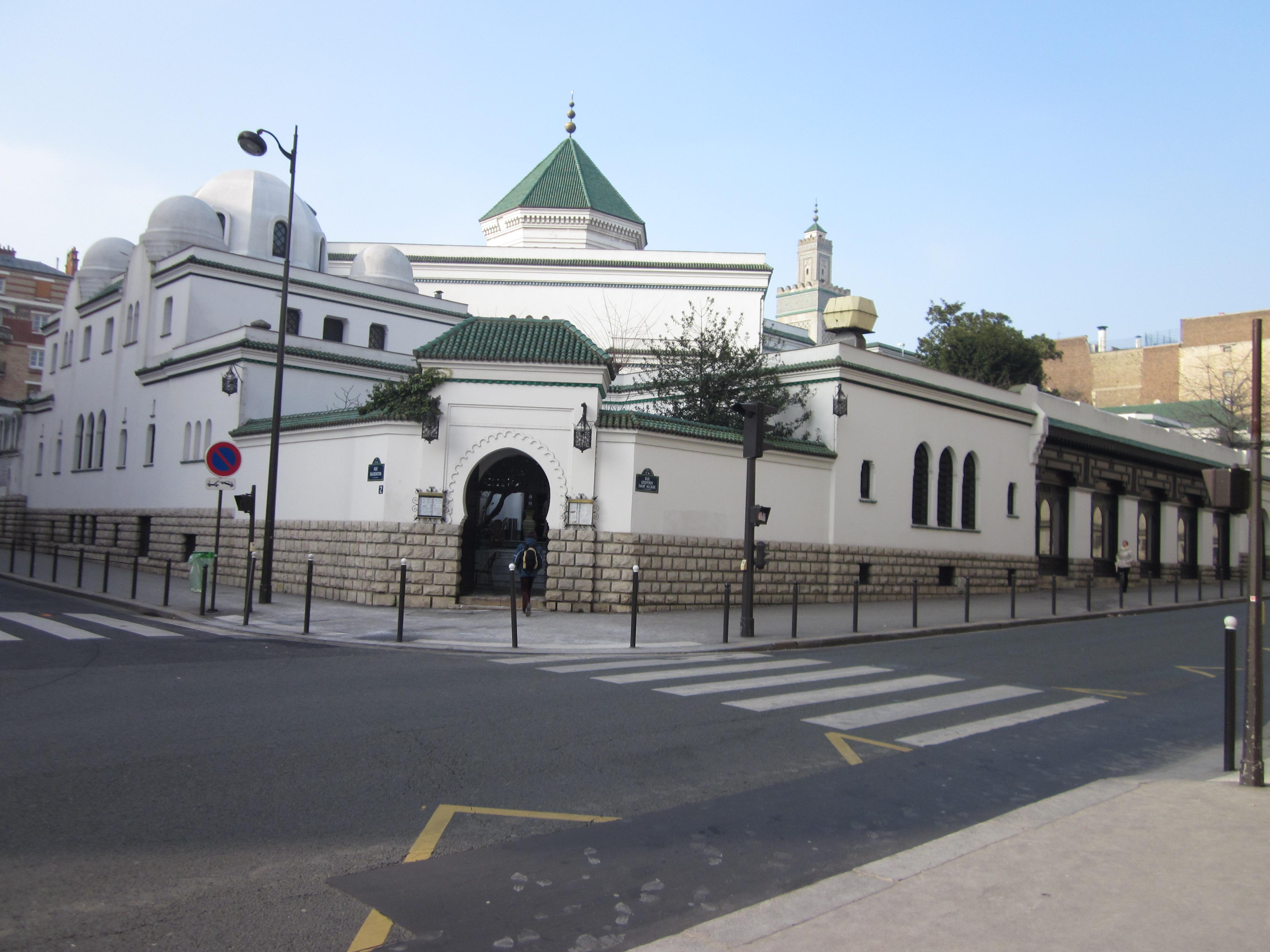 Le Grand Mosque de Paris   Le Michaux